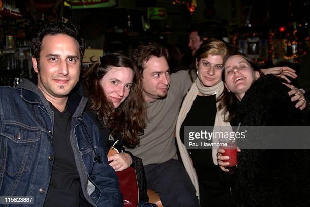 "Justin Burruto, Julia King, Producer of ""American Splendor,"" Robert Pulcini, Co-director of ""American Splendor,"" Sherri Springer-Berman, Co-director..."