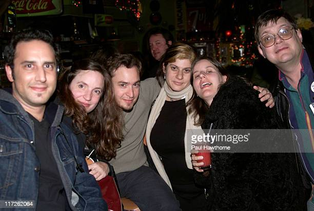 Justin Burruto, Julia King, Producer of American Splendor, Robert Pulcini, Co-director of American Splendor, Sherri Springer-Berman, Co-director of...