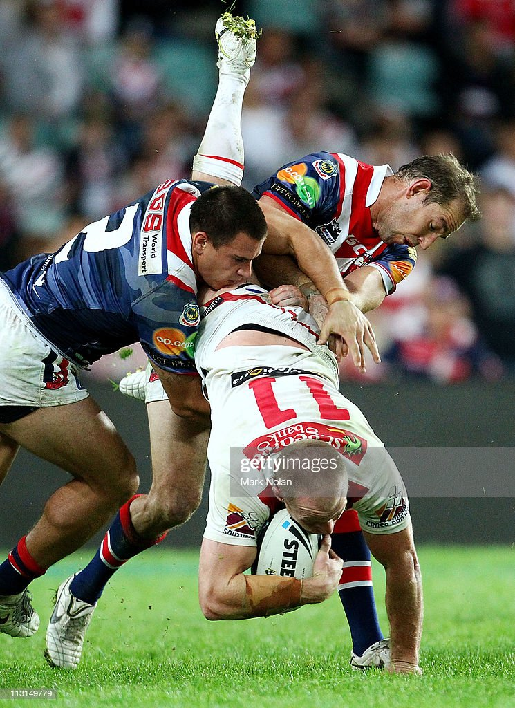 NRL Rd 7 - Roosters v Dragons