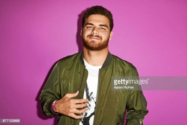 DJ Justin Caruso is photographed for Billboard Magazine on August 19 2017 at the Billboard Hot 100 Music Festival at Northwell Heath at Jones Beach...