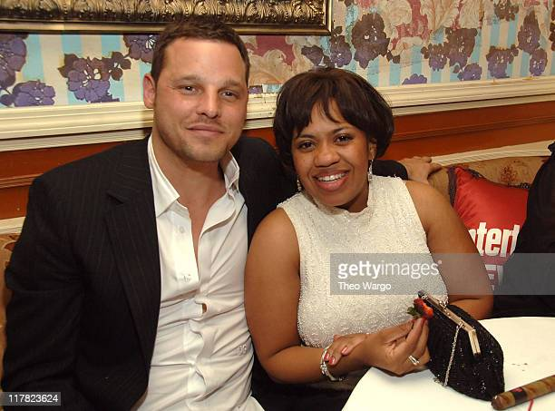 Justin Chambers and Chandra Wilson during Entertainment Weekly/Vavoom 2007 Upfront Party Inside at The Box in New York City New York United States