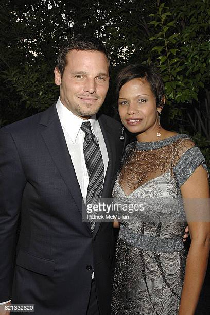 Justin Chambers and Keisha Chambers attend The 7th Annual Chrysalis Butterfly Ball at Private Residence on May 31 2008 in Los Angeles CA