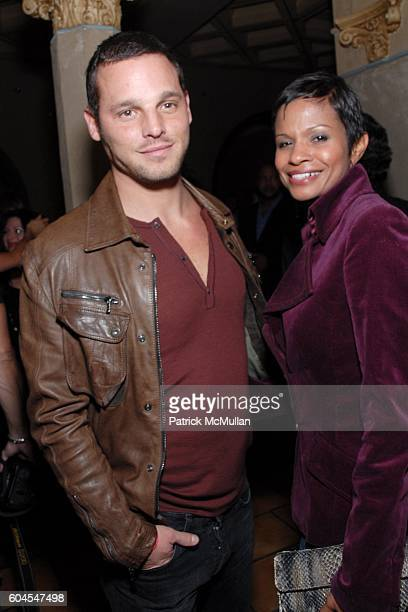 Justin Chambers and Keisha Chambers attend Victoria Secret Fashion Show After Party at Kodak Theatre on November 16 2006 in Hollywood CA