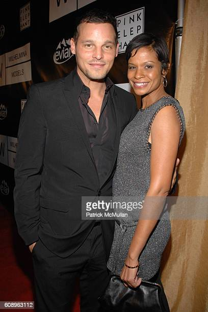 Justin Chambers and Keisha Chambers attend WILHELMINA MODELS 40th Anniversary at The Angel Orensanz Foundation on November 29, 2007 in New York City.