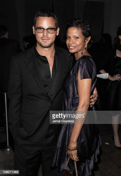 Justin Chambers and Keisha Leon Chambers during The Whitney Contemporaries Host ART PARTY 2006 at Skylight Studios in New York City, New York, United...