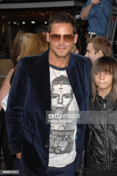 Justin Chambers and Maya Chambers attend SUMMIT ENTERTAINMENT'S PREMIERE OF THE TWILIGHT SAGA NEW MOON at Mann's Village Theatre on November 16 2009...