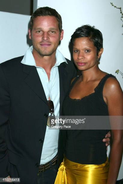 Justin Chambers and wife Keisha during The International Center of Photography's 21st Annual Infinity Awards Inside at Skylight Studios in New York...