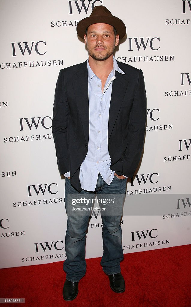 Justin Chambers arrives to the IWC Schaffhausen Presents 'Peter Lindbergh's Portofino' at Culver Studios on April 28, 2011 in Culver City, California.