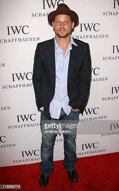 Justin Chambers arrives to the IWC Schaffhausen Presents Peter Lindbergh's Portofino at Culver Studios on April 28 2011 in Culver City California