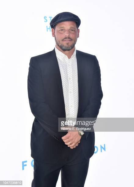 Justin Chambers attends The Rape Foundation's Annual Brunch on October 7 2018 in Beverly Hills California