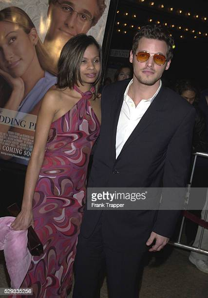 Justin Chambers costar of the film with Keishahis wife