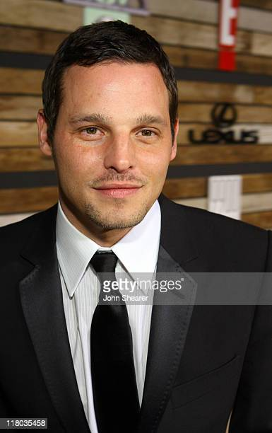 Justin Chambers during E and EMA's 2007 Golden Globe After Party Red Carpet and Inside at Beverly Hilton in Beverly Hills California United States