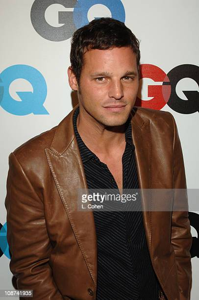 Justin Chambers during GQ Magazine Celebrates the 2005 Men of the Year Red Carpet at Mr Chow in Beverly Hills California United States