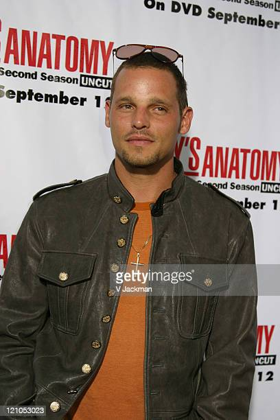 Justin Chambers during Grey's Anatomy DVD Season 2 Release Party at Social Hollywood in Los Angeles CA United States
