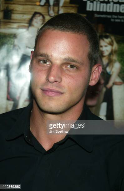 Justin Chambers during Hysterical Blindness Premiere New York at Chelsea Nine in New York City New York United States