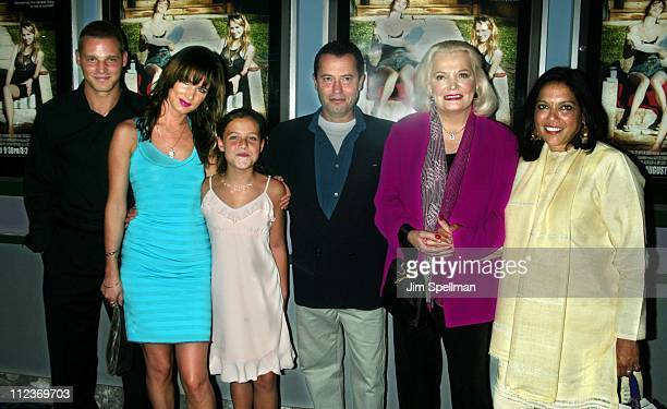 Justin Chambers Juliette Lewis Jolie Peters Colin Callender President of HBO Films Gena Rowlands director Mira Nair