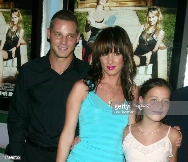 Justin Chambers Juliette Lewis Jolie Peters during Hysterical Blindness Premiere New York at Chelsea Nine in New York City New York United States