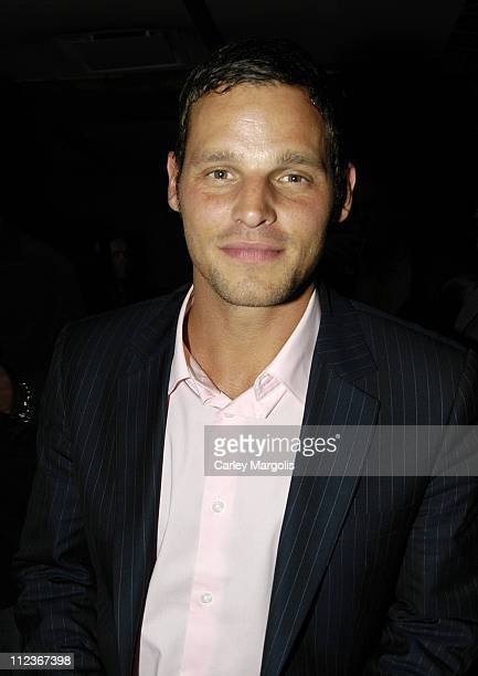 Justin Chambers of Grey's Anatomy during Celebrities in Town for UpFronts Attend Bunny Chow Tuesdays at Cain May 17 2005 at Cain in New York City New...