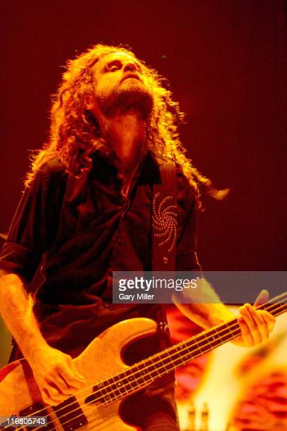 Justin Chancellor of Tool during Tool in Concert at the ATT Center May 21 2007 at ATT Center in San Antonio Texas United States