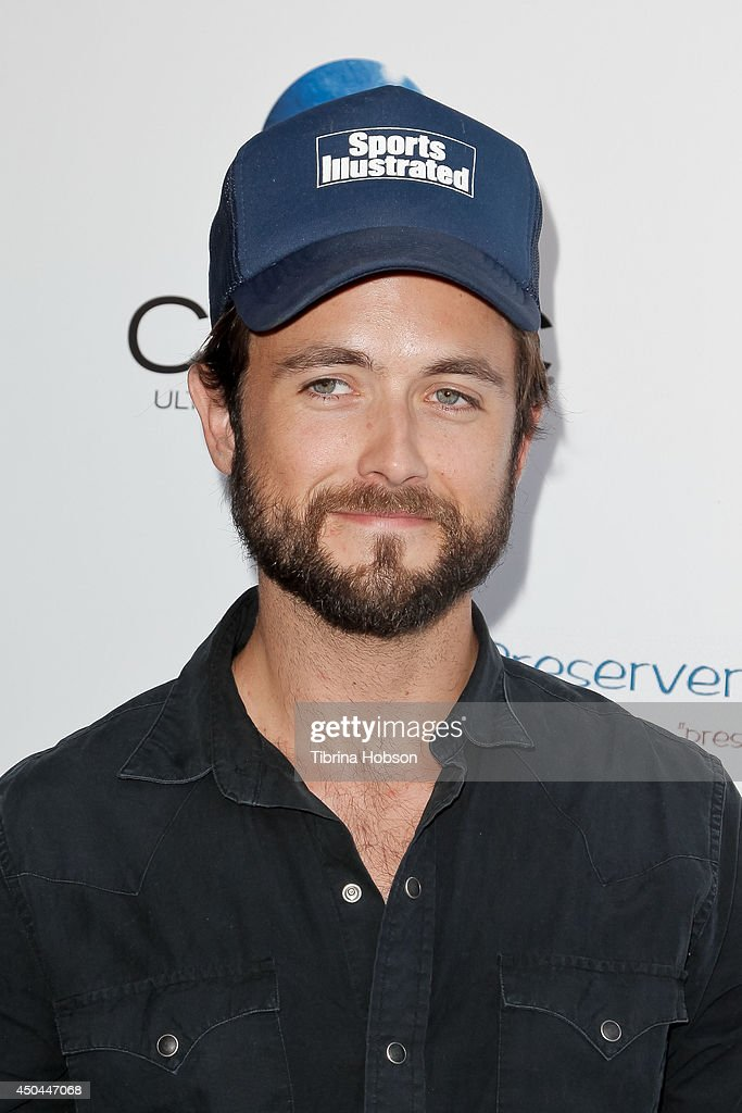 Justin Chatwin attends the screening of AnnaLynne McCord's 'I Choose' at Harmony Gold Theatre on June 10, 2014 in Los Angeles, California.