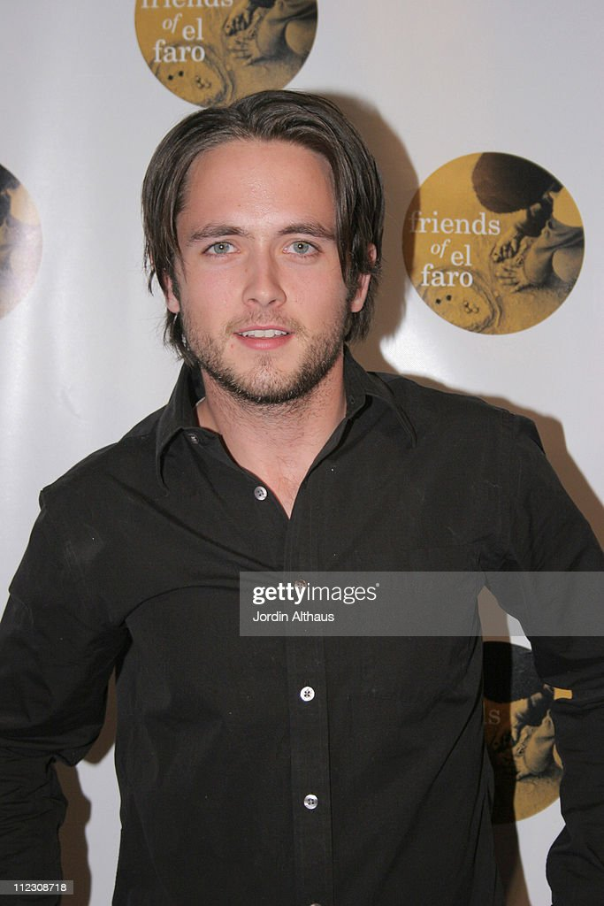 Justin Chatwin during Molly Sims 4th Annual Night with the Friends of El Faro at The Music Box Henry Fonda Theatre in Hollywood, California, United States.