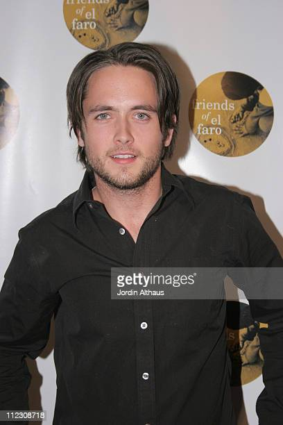 Justin Chatwin during Molly Sims 4th Annual Night with the Friends of El Faro at The Music Box Henry Fonda Theatre in Hollywood California United...
