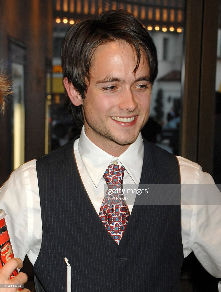 Justin Chatwin during 'The Invisible' Los Angeles Premiere - Red Carpet at Bruin Theatre in Westwood, California, United States.