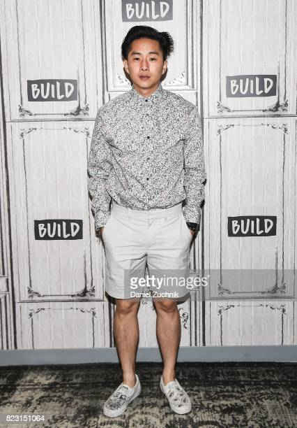 Justin Chon attends the Build Series to discuss his new film 'Gook' at Build Studio on July 26 2017 in New York City