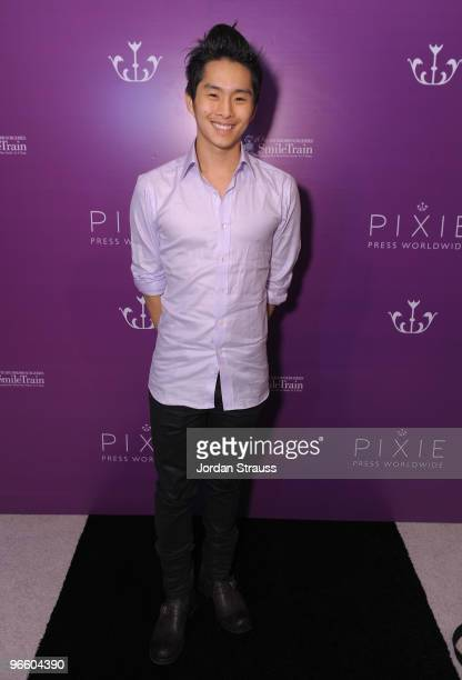 Justin Chon attends the Pixie Press Launch And About Face Book Release at The London Hotel on February 11 2010 in West Hollywood California