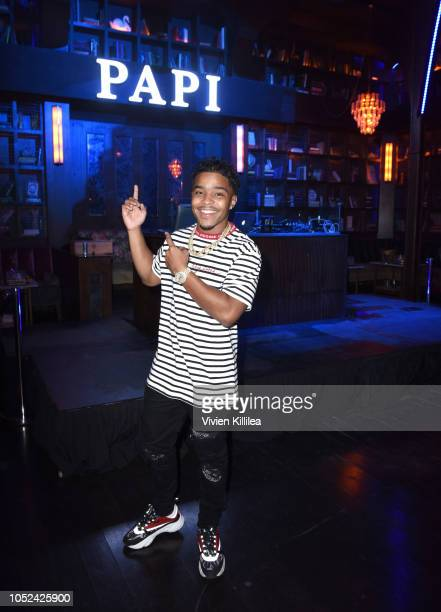 Justin Combs attends Drake's Private After Party at Poppy nightclub presented by The hwood Group PacSun with specialty sips by Virginia Black on...
