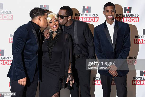 Justin Combs Janice Combs Sean 'Diddy' Combs and Christian Combs attend the Boys Girls Harbor Salute To Achievement at David H Koch Theater Lincoln...