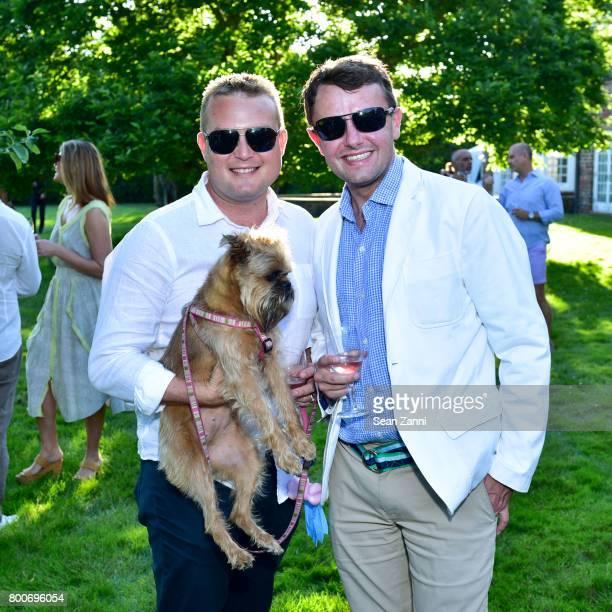 Justin Concannon Gretchen and Roric Tobin attend Maison Gerard Presents Marino di Teana A Lifetime of Passion and Expression at Michael Bruno and...