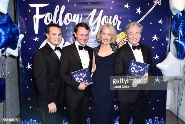 Justin Concannon Roric Tobin Amy Hoadley and Geoffrey Bradfield attend 'Follow Your Star' Book Launch at 800 B Fifth Avenue on November 30 2017 in...