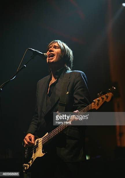 Justin Currie of Del Amitri performs at 02 Academy on January 30 2014 in Bournemouth England