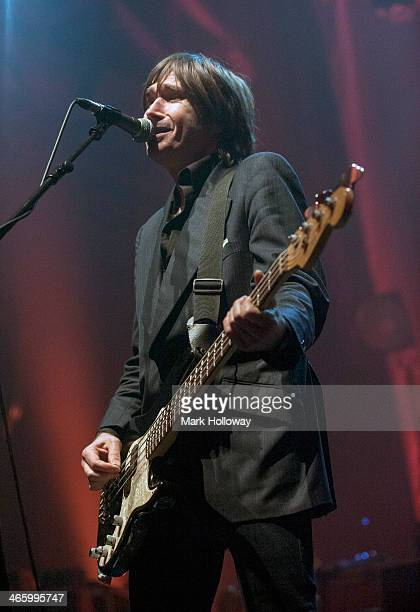 Justin Currie of Del Amitri performs on stage at O2 Academy on January 30 2014 in Bournemouth United Kingdom