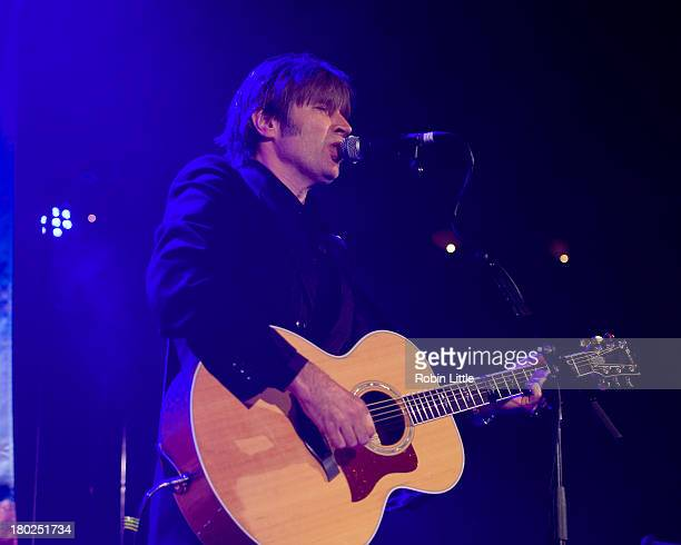 Justin Currie performs on stage at the Union Chapel on September 10 2013 in London England