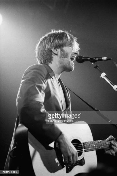 Justin Currie vocalguitar performs with Del Amitri at the Melkweg on 21st March 1995 in Amsterdam Netherlands