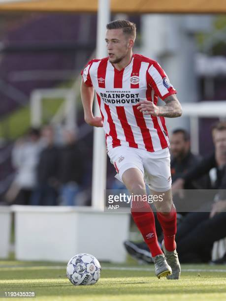 Justin de Haas of PSV during a international friendly match between PSV Eindhoven and KAS Eupen at Aspire Academy on January 11, 2020 in Doha, Qatar