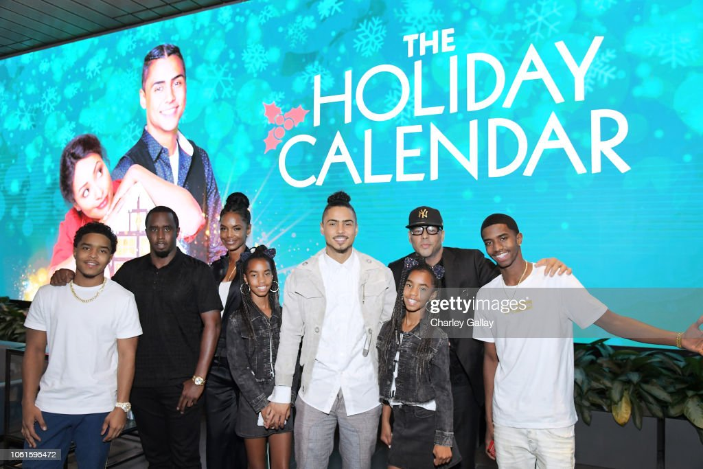 """""""The Holiday Calendar"""" Special Screening Los Angeles : News Photo"""