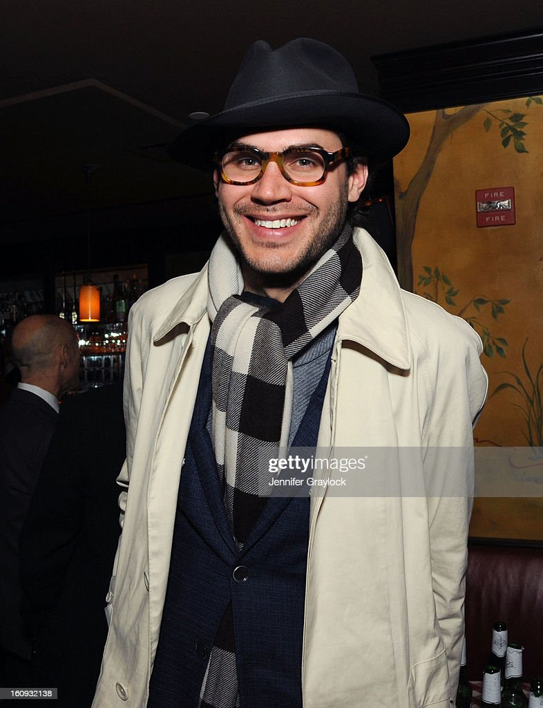 Justin Doss attends the Band Of Outsiders Fashion Week Mens Collection After Party held at the Monkey Bar on February 7, 2013 in New York City.