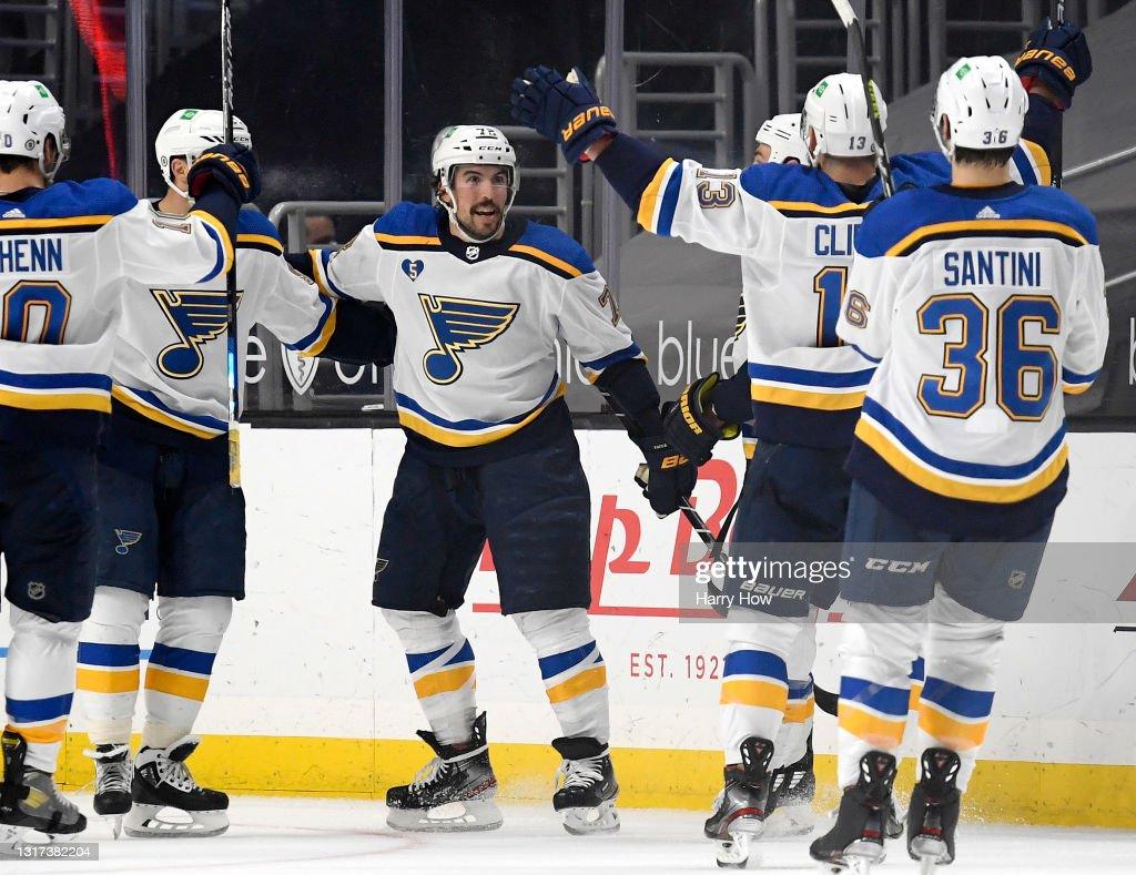 St Louis Blues v Los Angeles Kings : News Photo