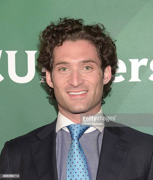 Justin Fichelson attends the 2015 NBCUniversal Summer Press Day at the Langham Hotel on April 2 2015 in Pasadena California