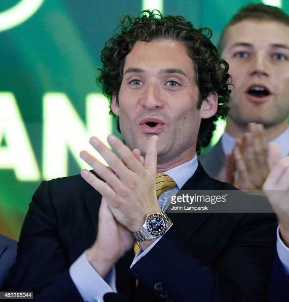 Justin Fichelson rings the Nasdaq Stock Market opening bell celebrating the Million Dollar Listing San Francisco during opening bell at NASDAQ...