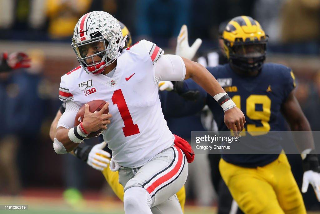 Ohio State v Michigan : News Photo