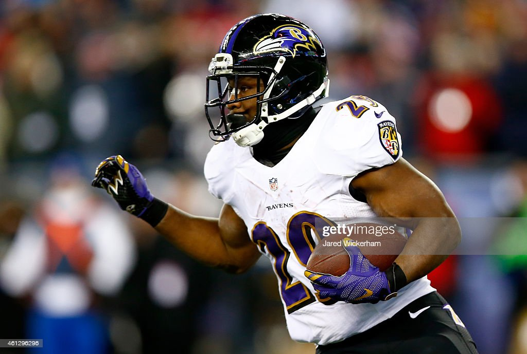 Divisional Playoffs - Baltimore Ravens v New England Patriots : News Photo