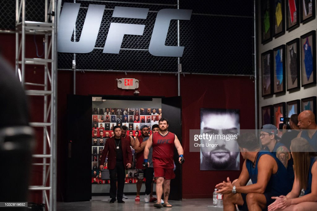 The Ultimate Fighter: Heavy Hitters : News Photo