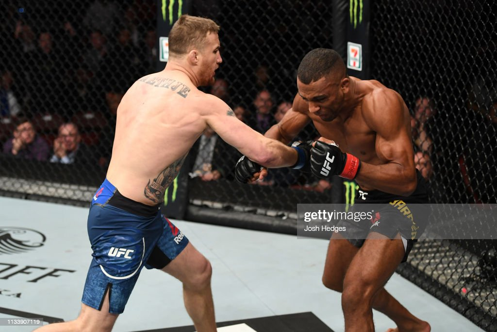 UFC Fight Night: Barboza v Gaethje : News Photo