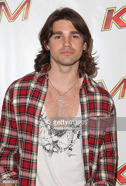 Justin Gaston arrives at KIIS FM's Wango Tango 2010 at the Staples Center on May 15 2010 in Los Angeles California