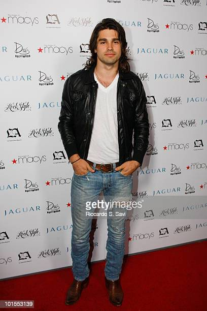 Justin Gaston attends the LA Los Angeles Times Magazine's Rock Style A Night Of Music Fashion on June 1 2010 in Hollywood California