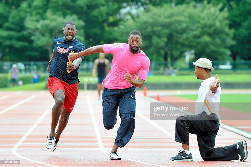 Tyson gay workouts